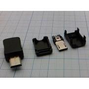ВИЛКА USB  micro B 5PB1