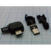 ВИЛКА USB  (аналог (5PBR1)) micro B 5PBR на кабель