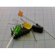 РАДИОКОНСТР №91 Универсальный испытатель транзисторов и диодов