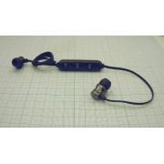 БЕСПРОВОДНЫЕ НАУШНИКИ Earphone с гарнитурой для смартфона черные, магнитные