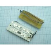 МИНИСТРОБОСКОП 12В 1,2А  светодиодный модуль,желтый
