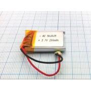 АККУМУЛЯТОР LP 502025-PCM (Li-POL) 3,7В 200мА/ч