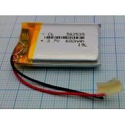 АККУМУЛЯТОР LP 582535-PCM (Li-POL) (аналог (450мА/ч)) 3,7В 600мА/ч