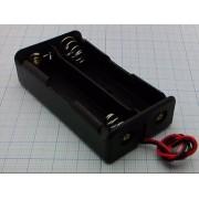КОРОБ 2 х 18650  для батареек
