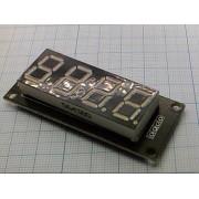 ДИСПЛЕЙ TM1637 (красный, зеленый) 0,56 4 разряда для Arduino