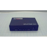 РАЗВЕТВИТЕЛЬ HDMI №17-6902  (аналог (№5-872-4)) 1х4