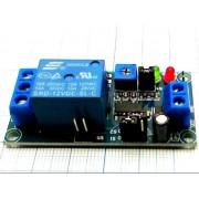 РЕЛЕ задержки CD4541BM  с таймером 12В