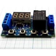 МОДУЛЬ реле задержки micro USB  5В 1-канал с индикатором