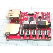 ПЛАТА MP3 плеер micro SD Bluetooth HW-771  3,7-5В