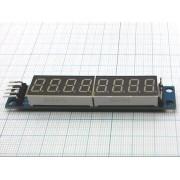 МОДУЛЬ дисплея MAX7219  8-значный для Arduino