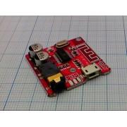 ПЛАТА стерео усилитель с Bluetooth 4.1, AUX  xy-bt-mini