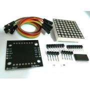МОДУЛЬ Светодиодная матрица  на MAX7219 для Arduino