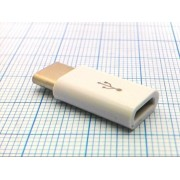 ПЕРЕХОДНИК T-04  micro USB гн. - TYPE-C шт.