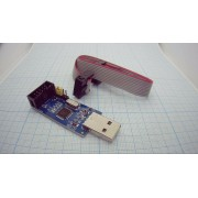 ПРОГРАММАТОР USB 10pin кабель Atmega8 - Atmega128