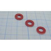 НАБОР стальных шайб со стеклопластиковой изоляцией  М4 (10шт)