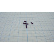 ВИНТ М1,2 4мм (+) с плоской головкой (10шт)