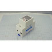 ЭЛЕКТРОСЧЕТЧИК с ваттметром, амперметром, вольтметром и возможностью сброса показаний  DDS6619-526L на din-рейку