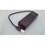 USB-КОНЦЕНТРАТОР UH-304 Super Speed  USB 3.0