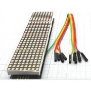 МОДУЛЬ светодиодного экрана из 4-х матриц  MAX7219 для Arduino