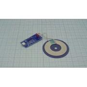 ПЛАТА беспроводное зарядное устройство QI 5В 1А 5Вт micro USB
