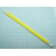 МАТРИЦА светодиодная холодный-белый 200х10мм 12В 10Вт