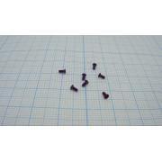ВИНТ М1,2 3мм (+) с плоской головкой (10шт)