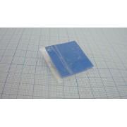ТЕРМОПРОКЛАДКА силиконовая высокоэффективная  10 х 10 х 0,5мм