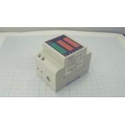 ГОЛОВКА ИЗМЕРИТЕЛЬНАЯ D52-2047 комбинированная амперметр, вольтметр, ваттметр, электросчетчик  80-300В 0-100А на din-рейку