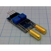 ДАТЧИК вибрации 2 канальный с поканальной регулировкой  LM393 для ARDUINO