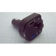 МОДУЛЯТОР Bluetooth громкая связь с ЗУ USB 5В 3,1А+1А