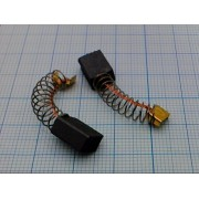 ЩЕТКА ГРАФИТОВАЯ 5х8х11 мм  (для эл.двиг. spring groove)