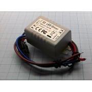 ДРАЙВЕР QH-LO1-5X1W 900мА светодиодный 1-5 х 1Вт вх. 85В-277В