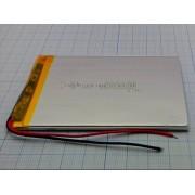 АККУМУЛЯТОР LP 407095-PCM (Li-POL) (аналог (3100мА/ч)) 3,7В 3500мА/ч