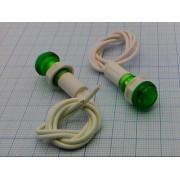 ЛАМПА неоновая, зеленая  (аналог (N-828-BG)) 220В