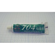 КЛЕЙ 704 50мл силиконовый теплопроводный