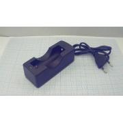 ЗАРЯДНОЕ УСТРОЙСТВО ZJ3009 для 1х18650 со шнуром  (аналог (ZJ3088))