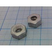 ГАЙКА DIN934 (14шт) М5 алюминиевая