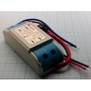 ДРАЙВЕР QH-10LO2-3X3W 6-10В 950мА светодиодный 2-3 х 3Вт вх. 85В-277В вых.