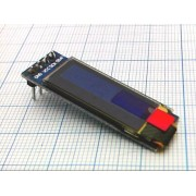 МОДУЛЬ SSD1306 OLED дисплея  128х32мм (белый, синий)