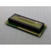 LCD ДИСПЛЕЙ 1602 символьный  для Arduino желто-зеленый