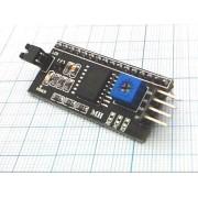ИНТЕРФЕЙС ЖК-дисплей  1602 IIC/I2C для Arduino