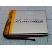 АККУМУЛЯТОР LP 505060-PCM (Li-POL) 3,7В 2000мА/ч