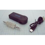ПЕРЕХОДНИК BT-163 питание от USB Bluetooth в AUX адаптер 3,5 мм