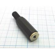 ГНЕЗДО 2,5 мм №1-031 стерео, на кабель
