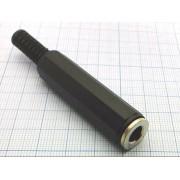 ГНЕЗДО 6,3 мм  стерео, на кабель