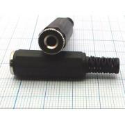 ГНЕЗДО 3,5 мм №1-081G стерео, на кабель