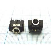ГНЕЗДО 3,5 мм №1-099 стерео, на плату