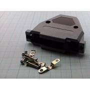 КОРПУС для разъема 37 pin  (аналог (корпус 62 pin))