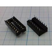 ПАНЕЛЬ ДЛЯ М/С 16 pin 2,54 мм