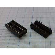ПАНЕЛЬ ДЛЯ М/С 18 pin 2,54 мм